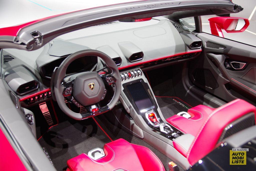 Lamborghini Huracan EVO Spyder Francfort 2019 LNA FM 6