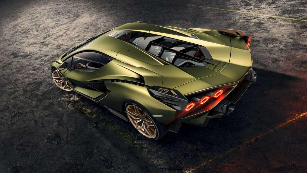 Lamborghini Sian Hybride 2019