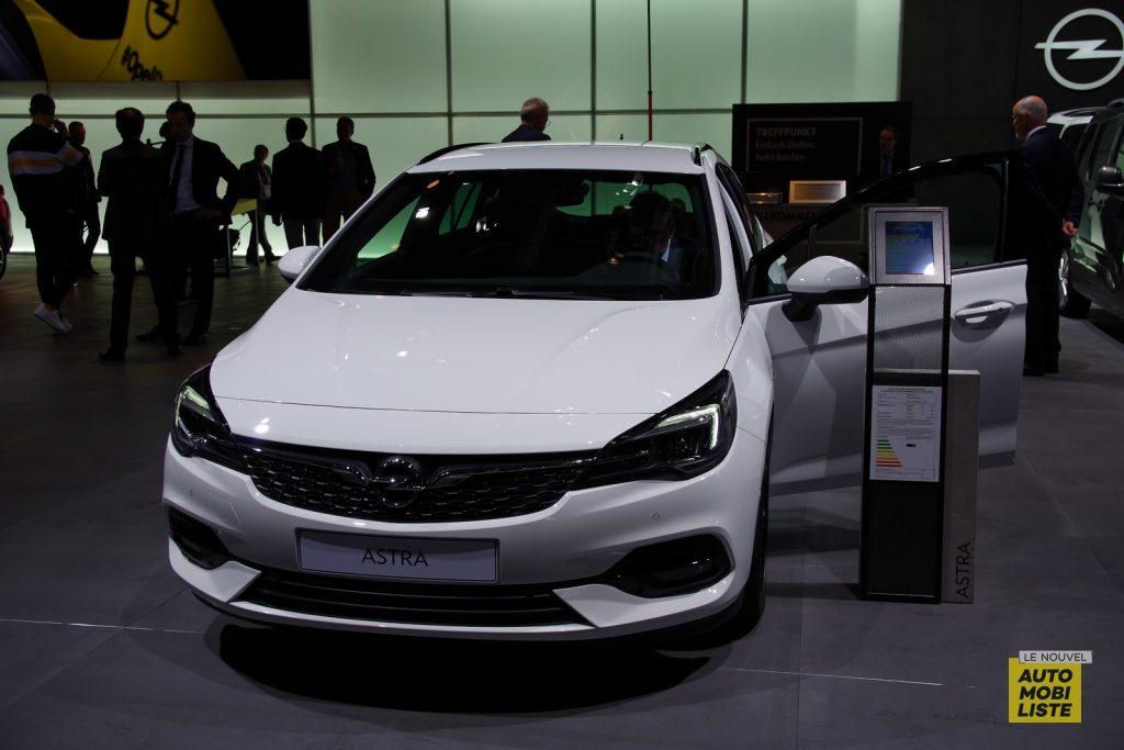 Opel Astra Facelift Francfort 2019 LNA FM 15