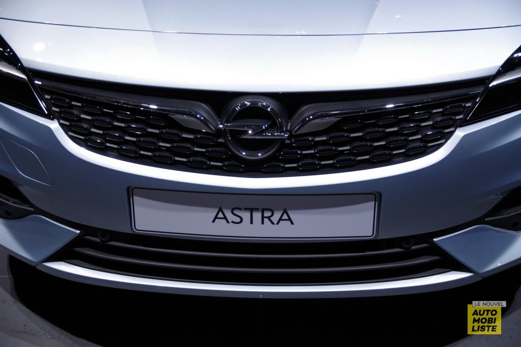 Opel Astra Facelift Francfort 2019 LNA FM 7