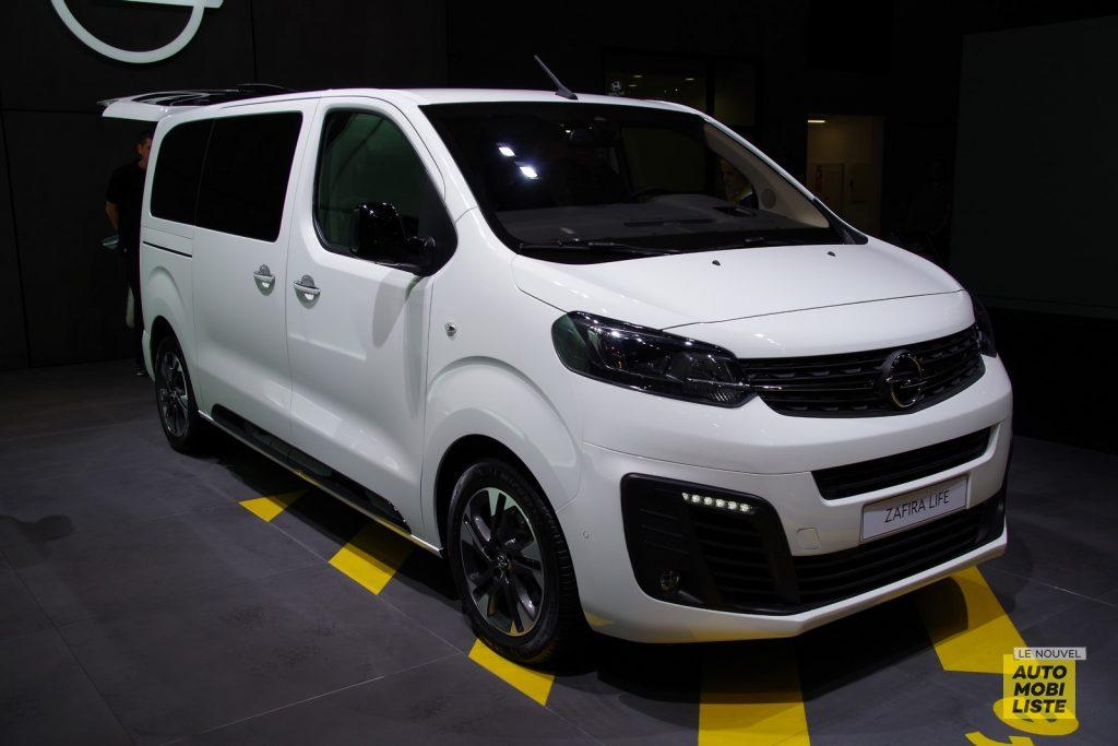 Opel Zafira Life Francfort 2019 LNA FM