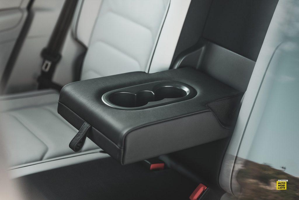 Essai VW Tiguan 1.5 TSI 150 DSG 7 EVO accoudoir arriere