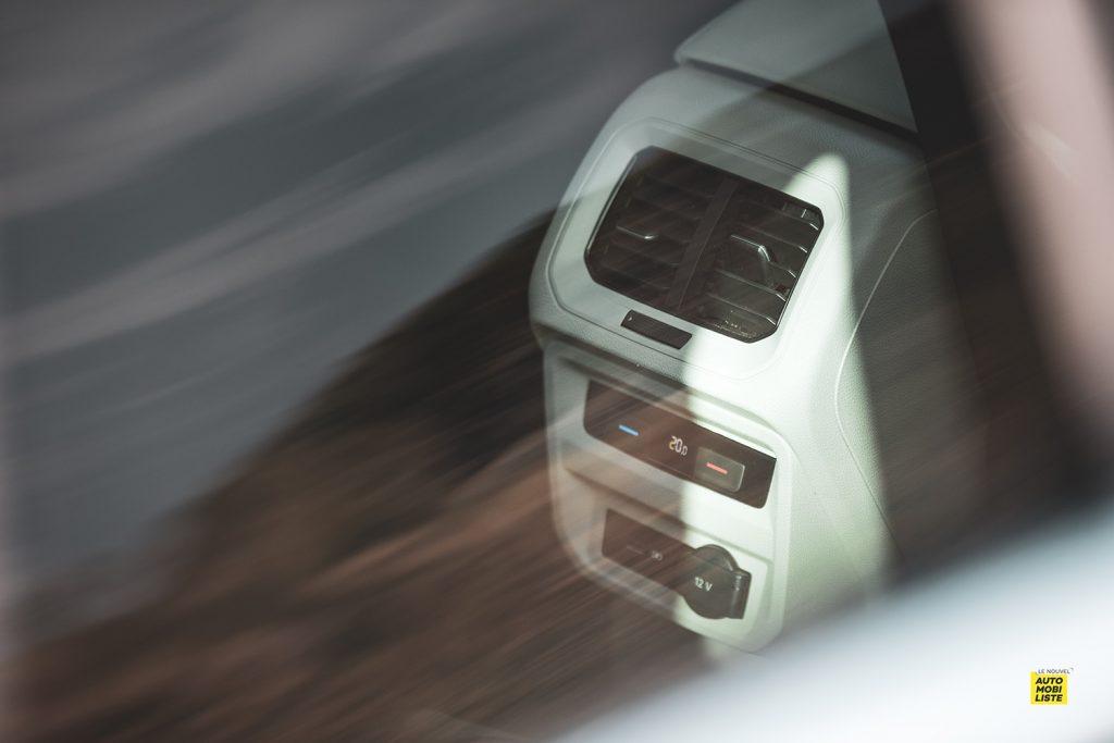 Essai VW Tiguan 1.5 TSI 150 DSG 7 EVO climatisation tri zone