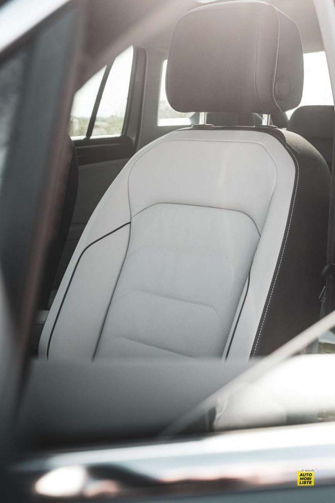 Essai VW Tiguan 1.5 TSI 150 DSG 7 EVO interieur cuir 2 sieges