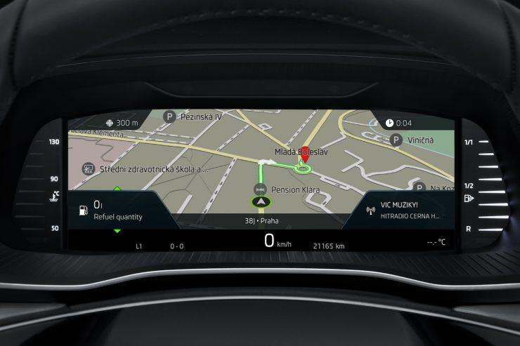 Nouvelle Skoda Octavia cockpit