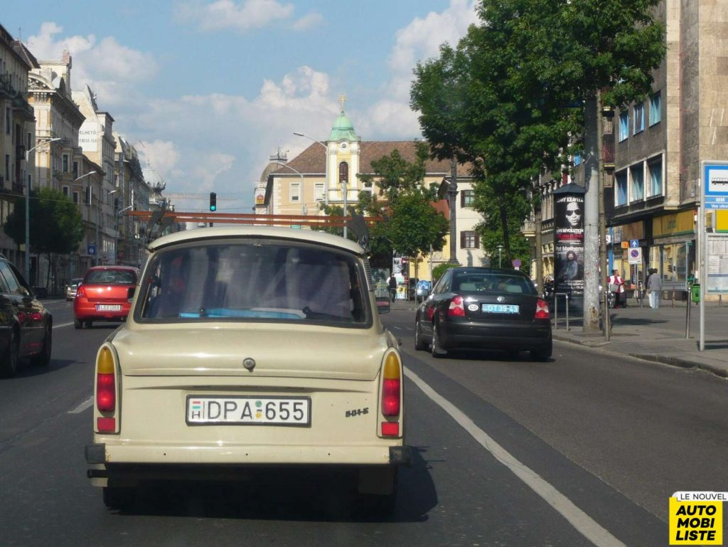 Trabant 601 Budapest Copier