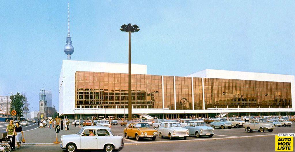 Trabant palast der republik ddr 1977
