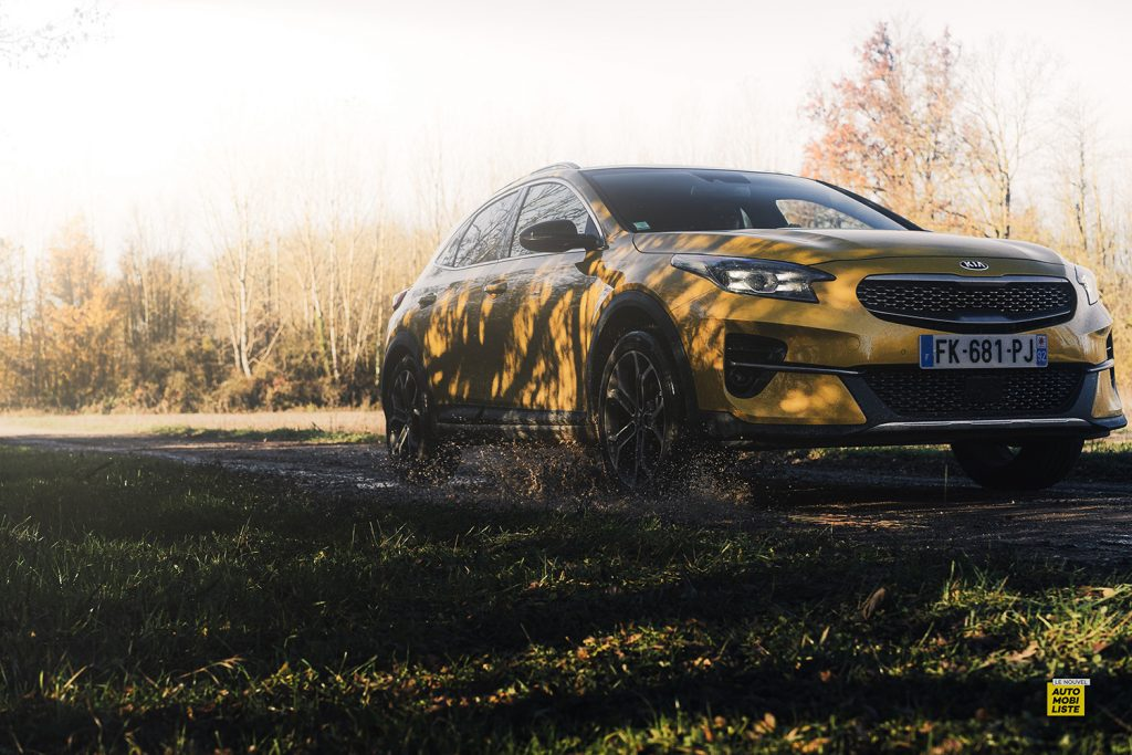 Essai Kia XCeed Launch Edition CRDI 136ch crossover dans la boue