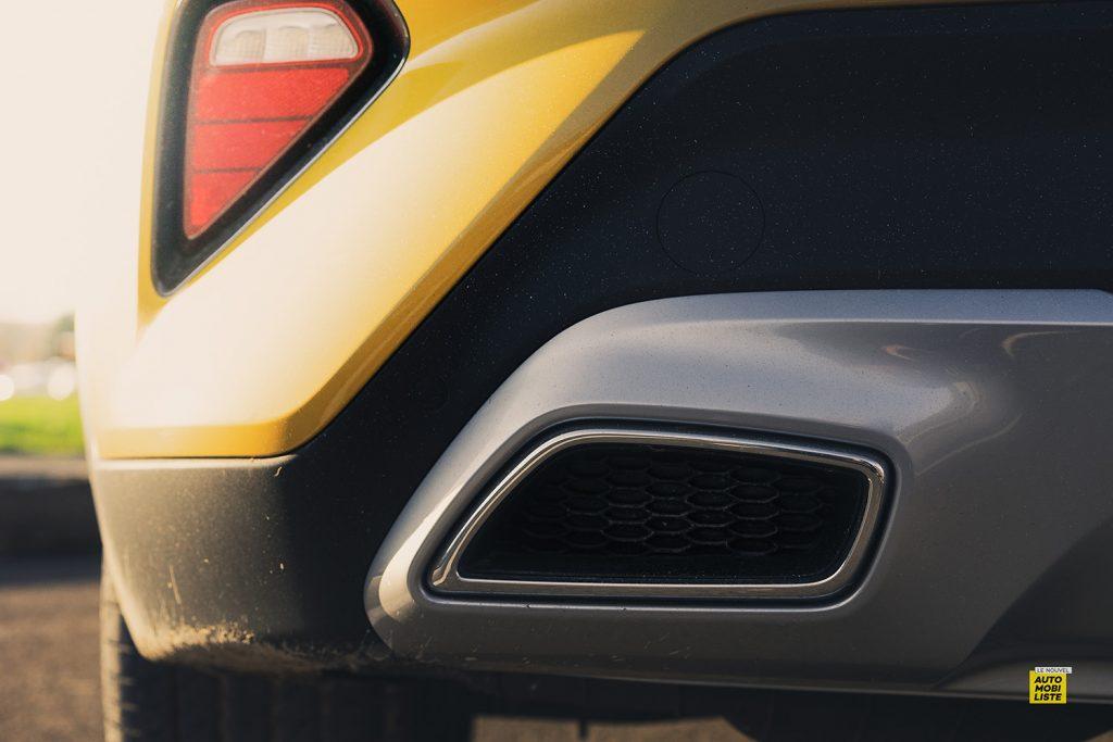 Essai Kia XCeed Launch Edition CRDI 136ch detail echappement
