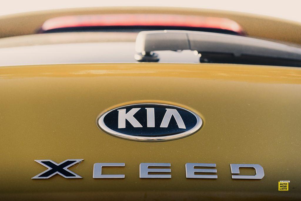 Essai Kia XCeed Launch Edition CRDI 136ch logo 2