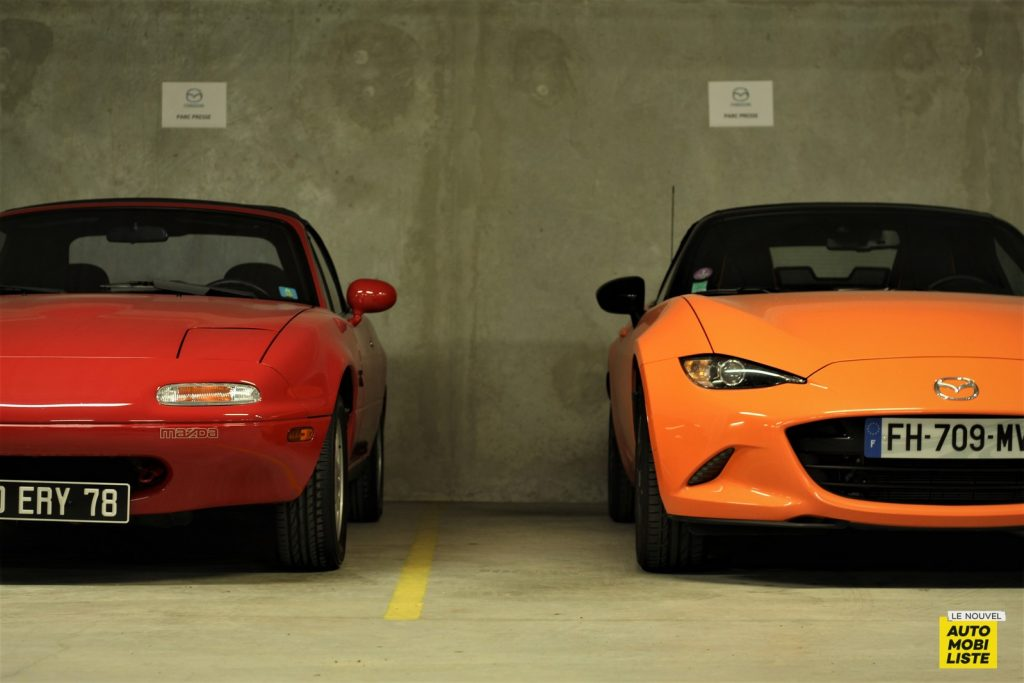 Essai Mazda MX-5 30th Essai Mazda MX-5 30ème anniversaire Dumoulin LNA