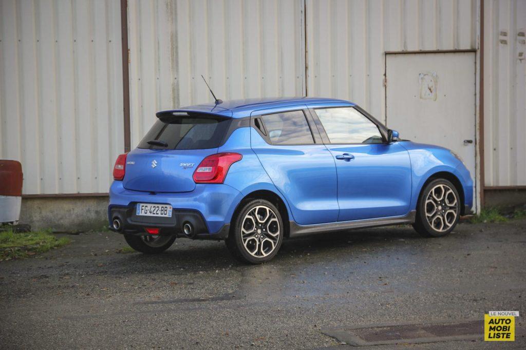 Essai Suzuki Swift Sport 10