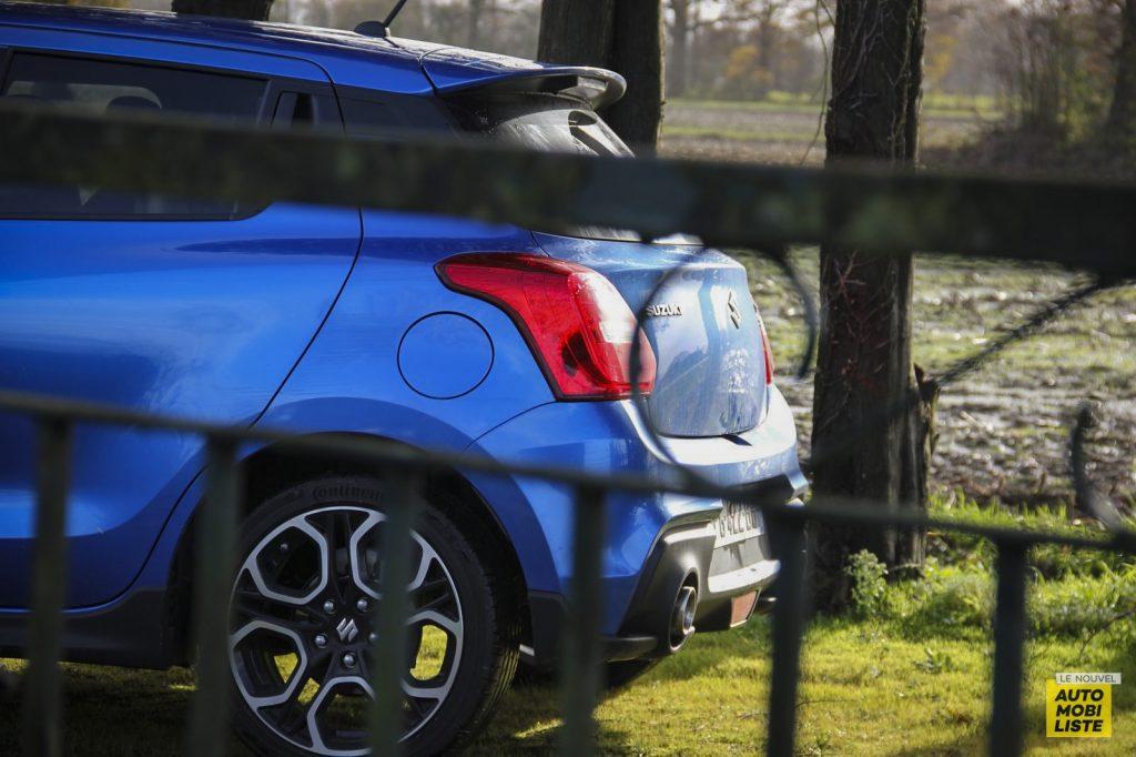 Essai Suzuki Swift Sport 105