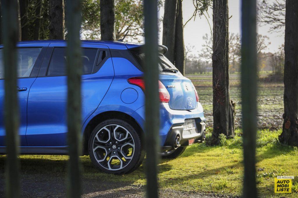 Essai Suzuki Swift Sport 106