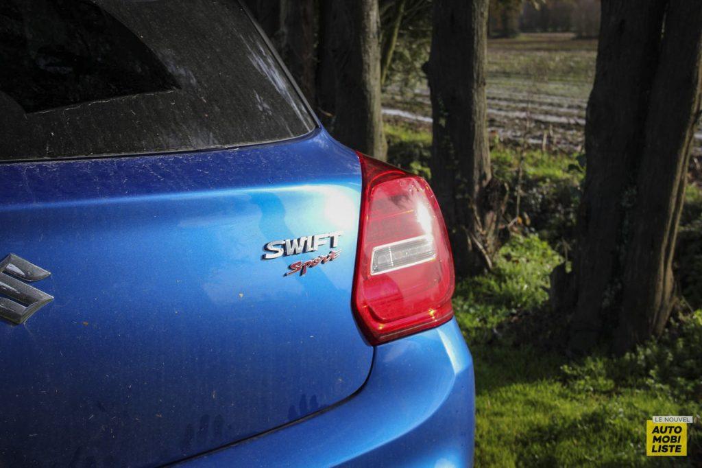 Essai Suzuki Swift Sport 114