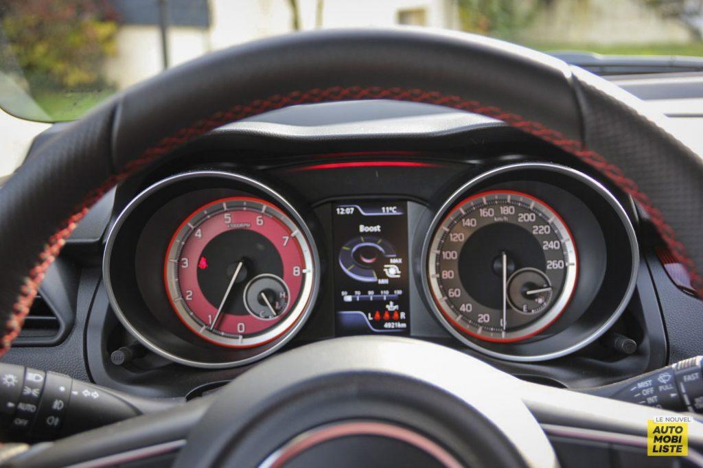 Essai Suzuki Swift Sport 125