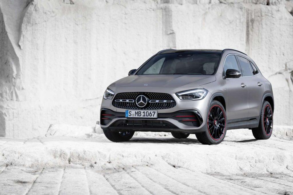 nouveau Mercedes GLA 2020 200