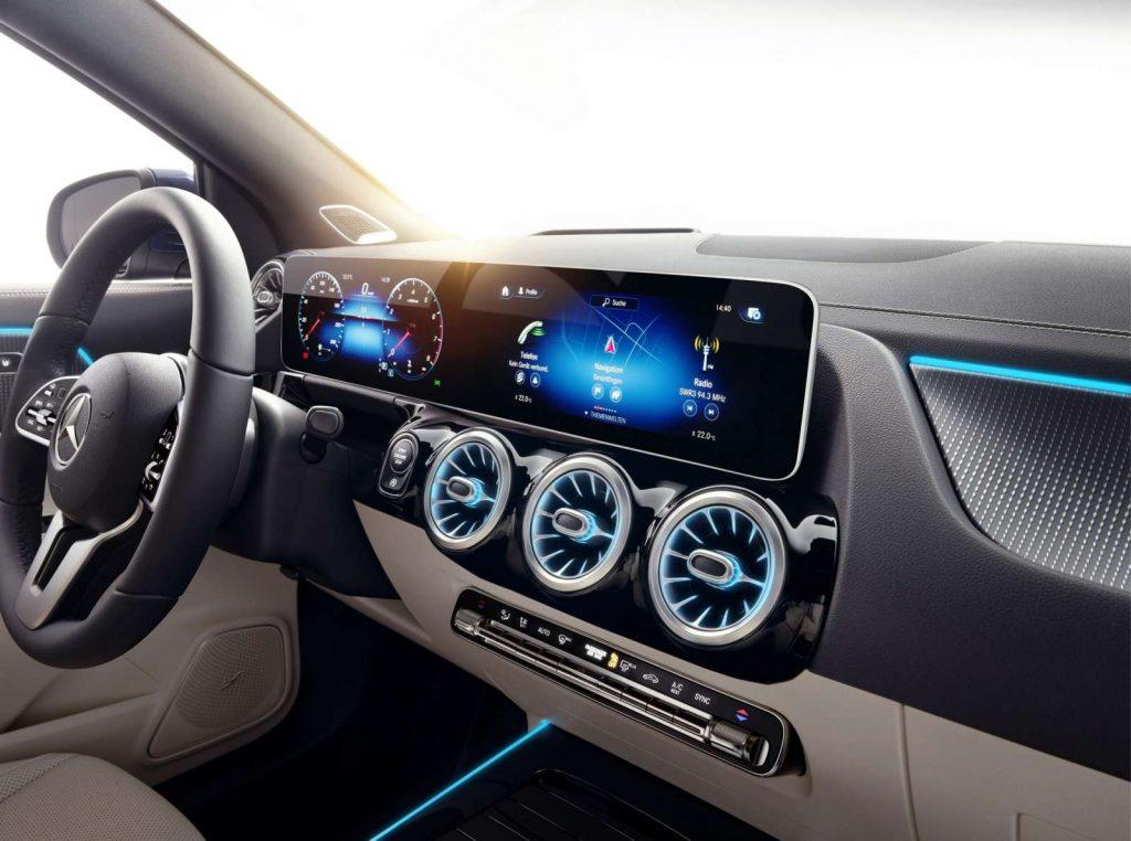 nouveau GLA 2020 Mercedes MBUX