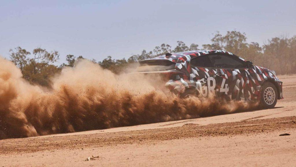 Toyota Yaris GR-4 2020 Gazoo Racing GRMN
