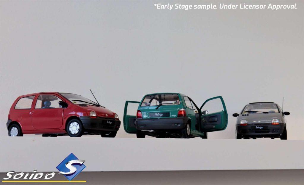 LNA Solido 08 Renault Twingo