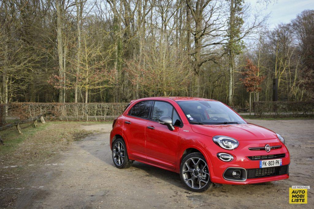 Essai Fiat 500X Sport Le Nouvel Automobiliste 2