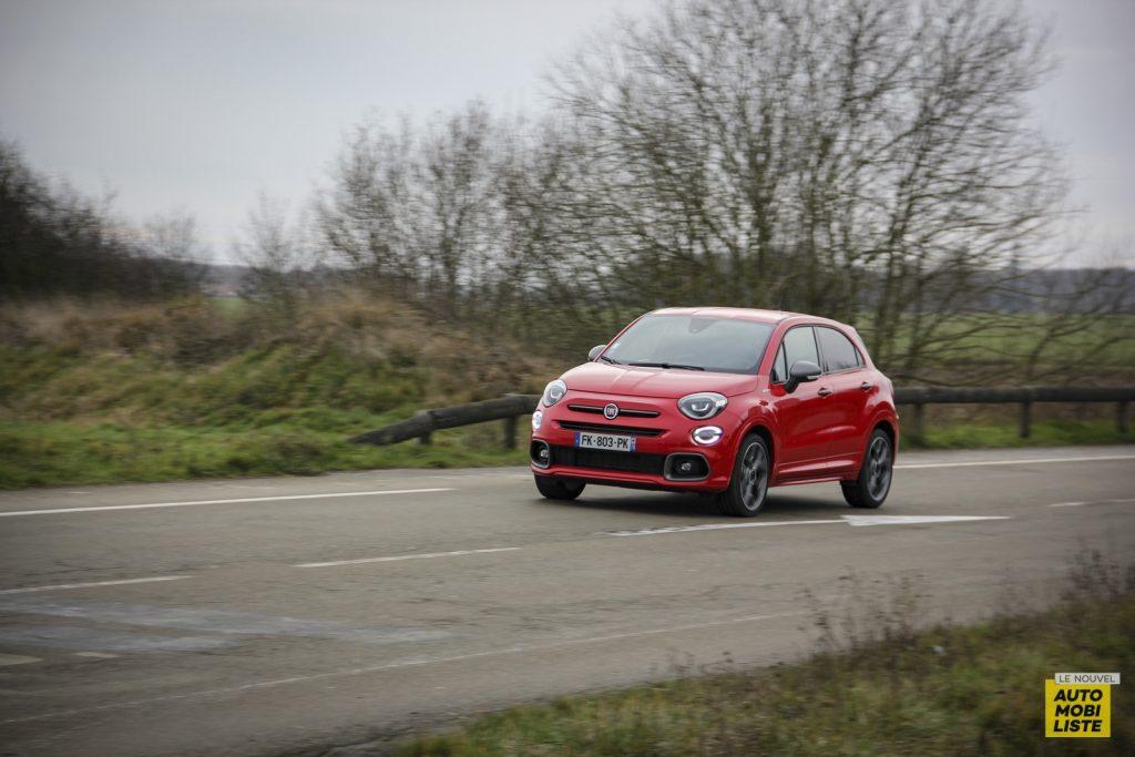 Essai Fiat 500X Sport Le Nouvel Automobiliste 85