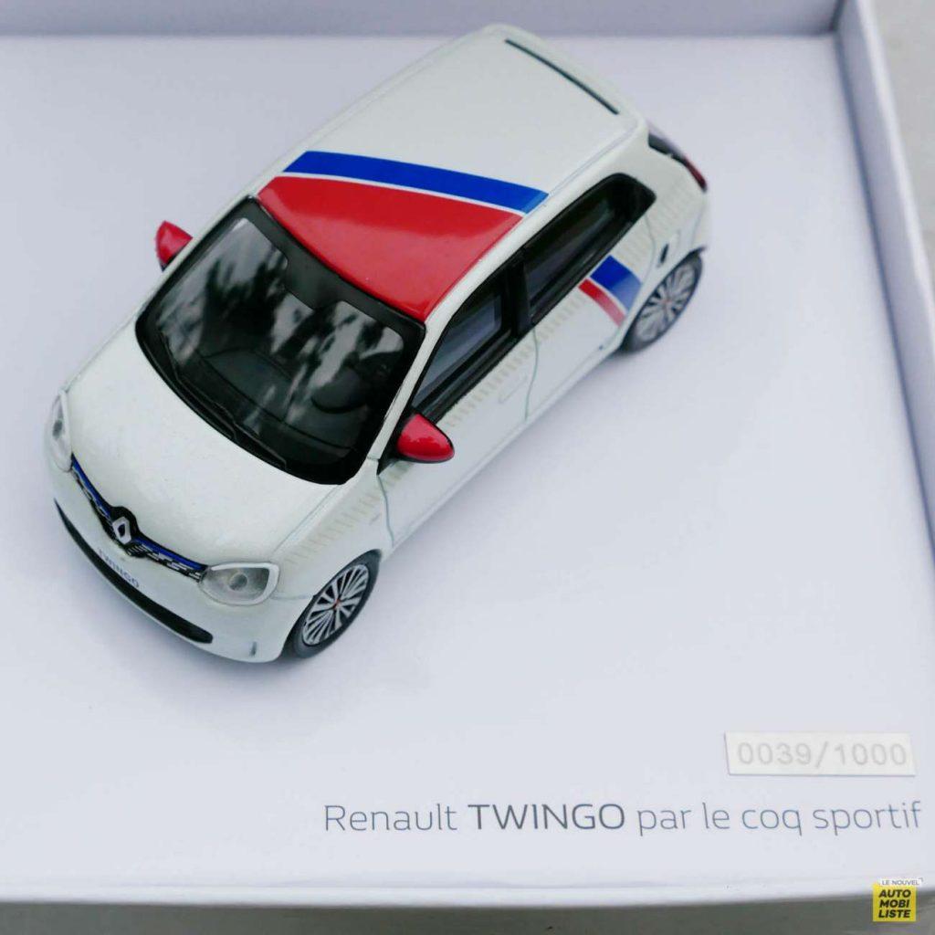 LNA Essai 2019 Renault Twingo 3.2 Le Coq Sportif Norev 24