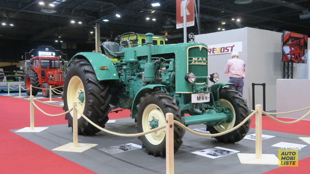 Retromobile 2020 Tracteurs LNA FM 26