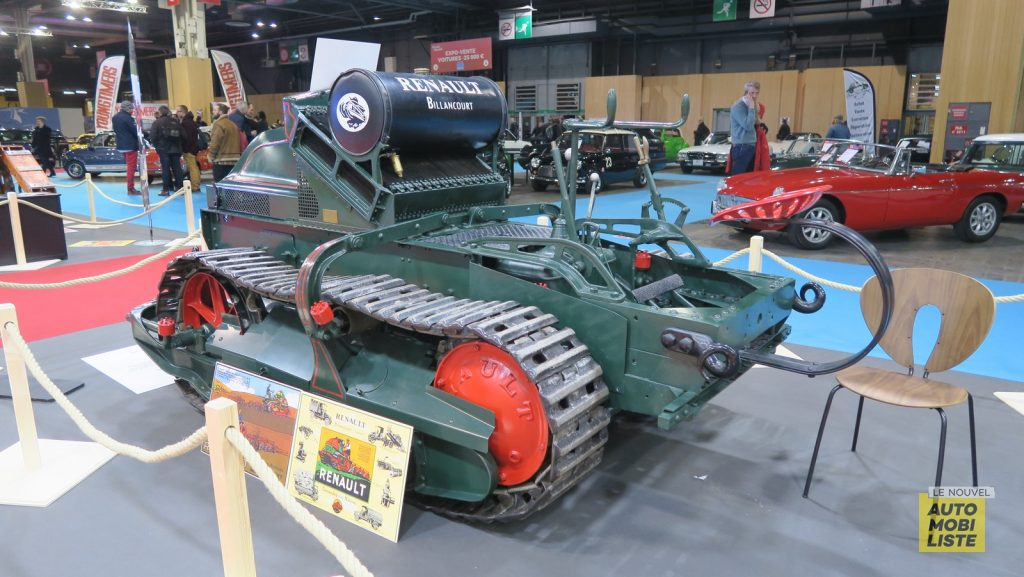 Retromobile 2020 Tracteurs LNA FM 43