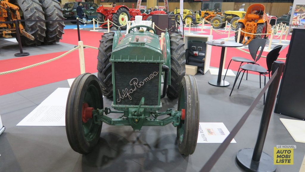 Retromobile 2020 Tracteurs LNA FM 61