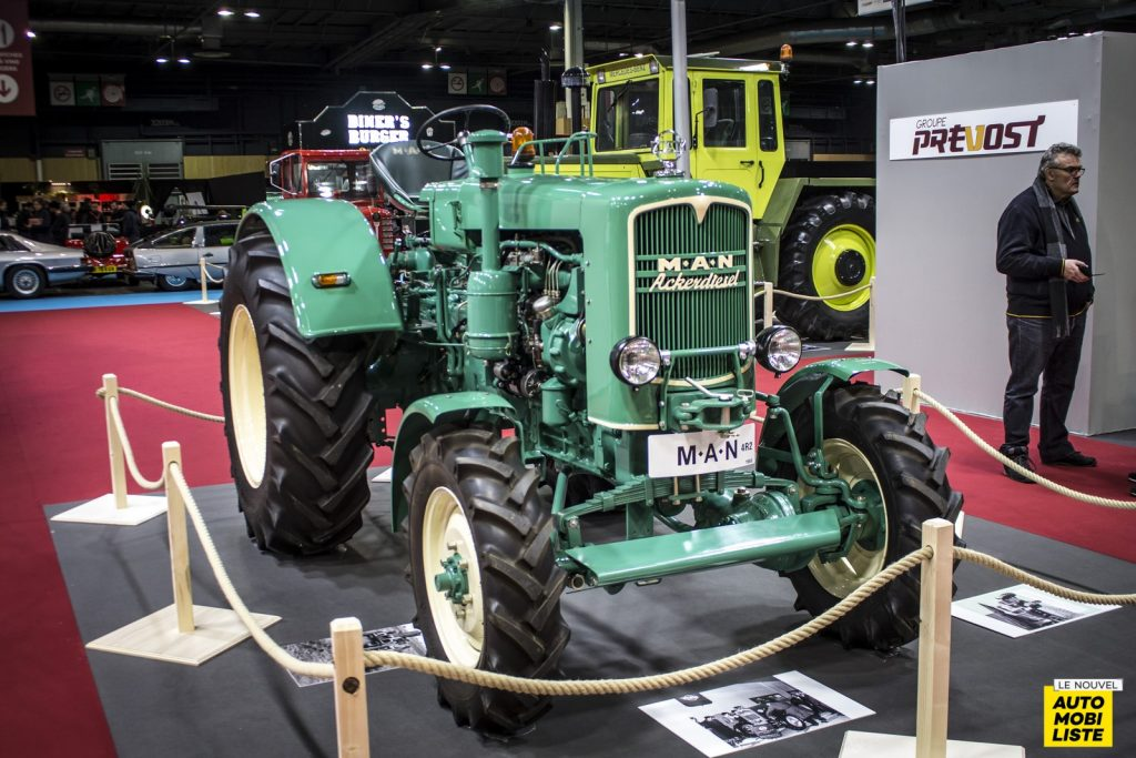 Tracteurs Retromobile 2020 LNA RB 11