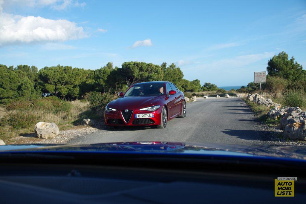 Alfa Romeo Giulia TI 2.2 190 AT8 rouge LNA FM 43