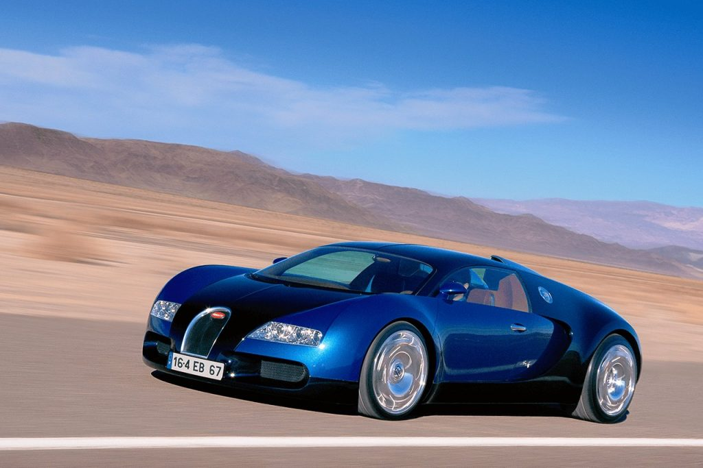 Bugatti EB 16/4 Veryon Concept 2000