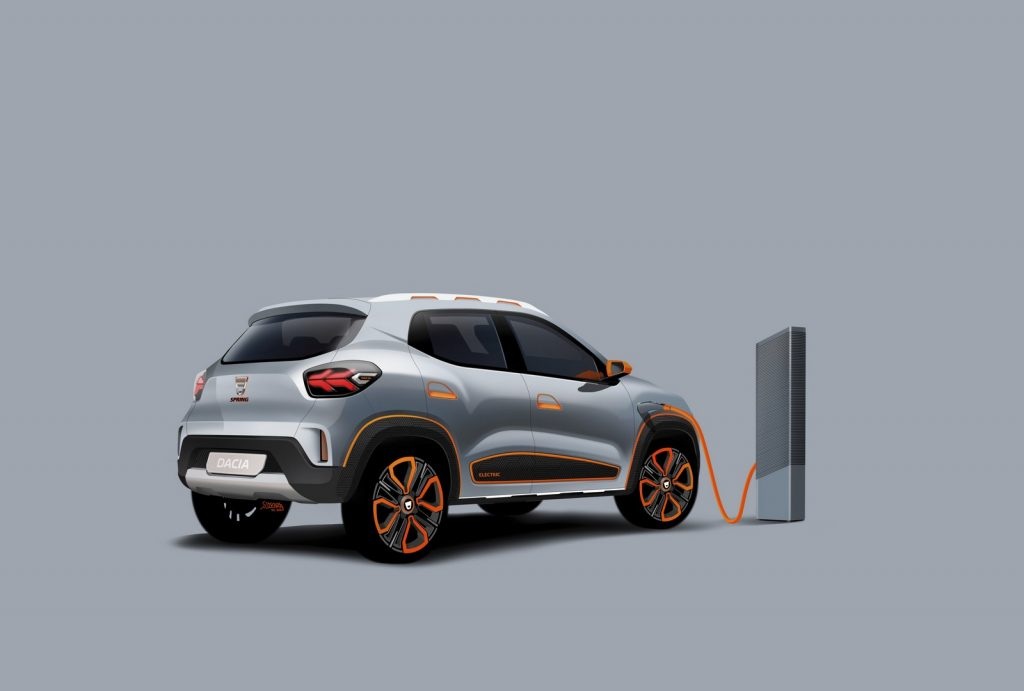 Dacia Spring Electric