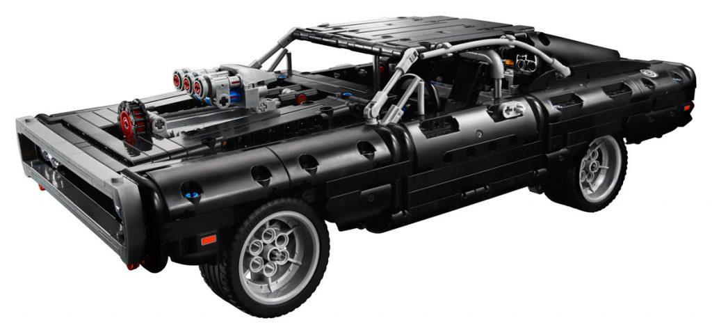 LEGO Technic 42111 Dodge Charger 13