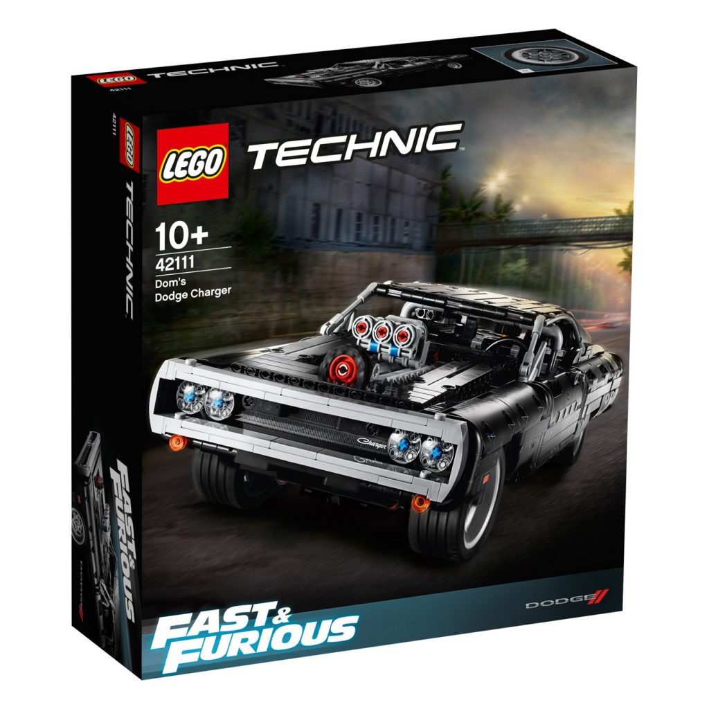 LEGO Technic 42111 Dodge Charger 17