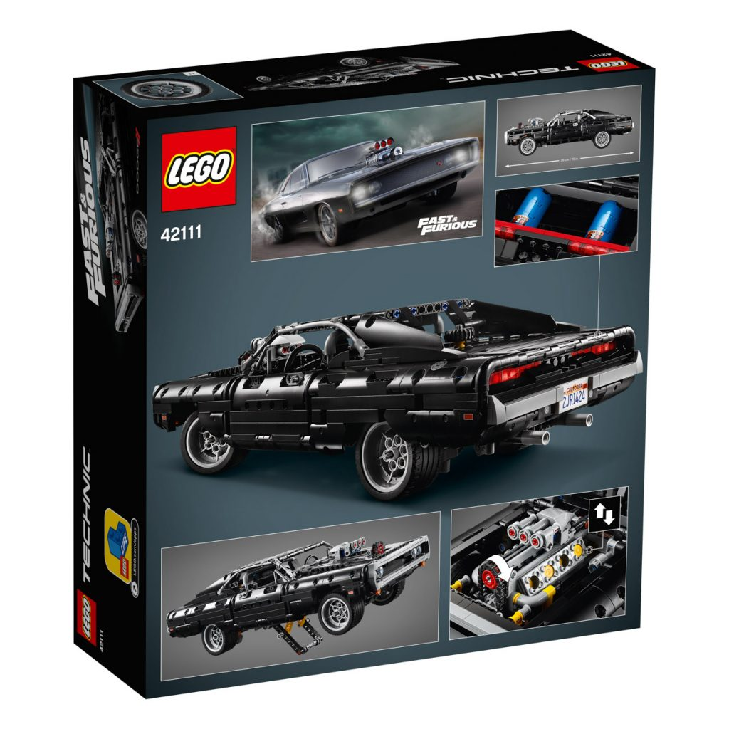 LEGO Technic 42111 Dodge Charger 18