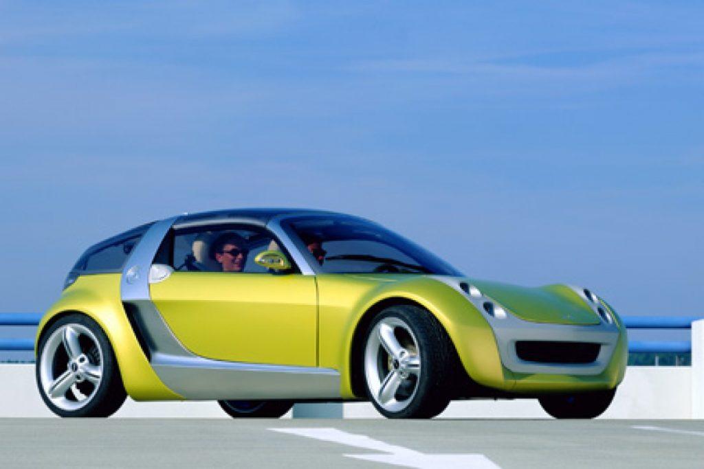 Smart Roadster Coupé Concept 2000