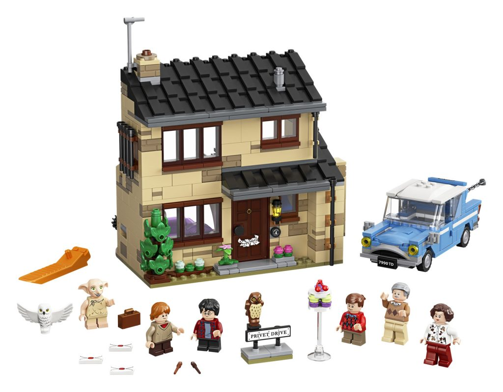 75968 lego harry potter 4 privet drive