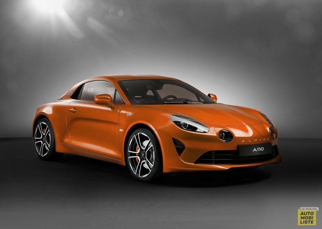 Alpine A110 Orange