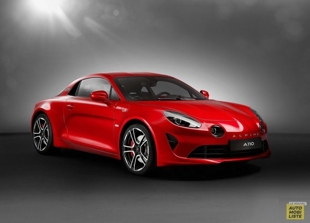 Alpine A110 Rouge Flamme
