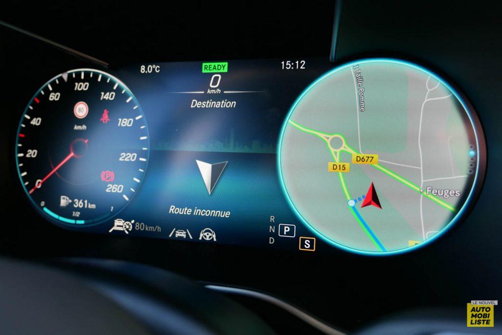 LNA Essai 2001 Mercedes Benz GLC Coupe Compteur 03