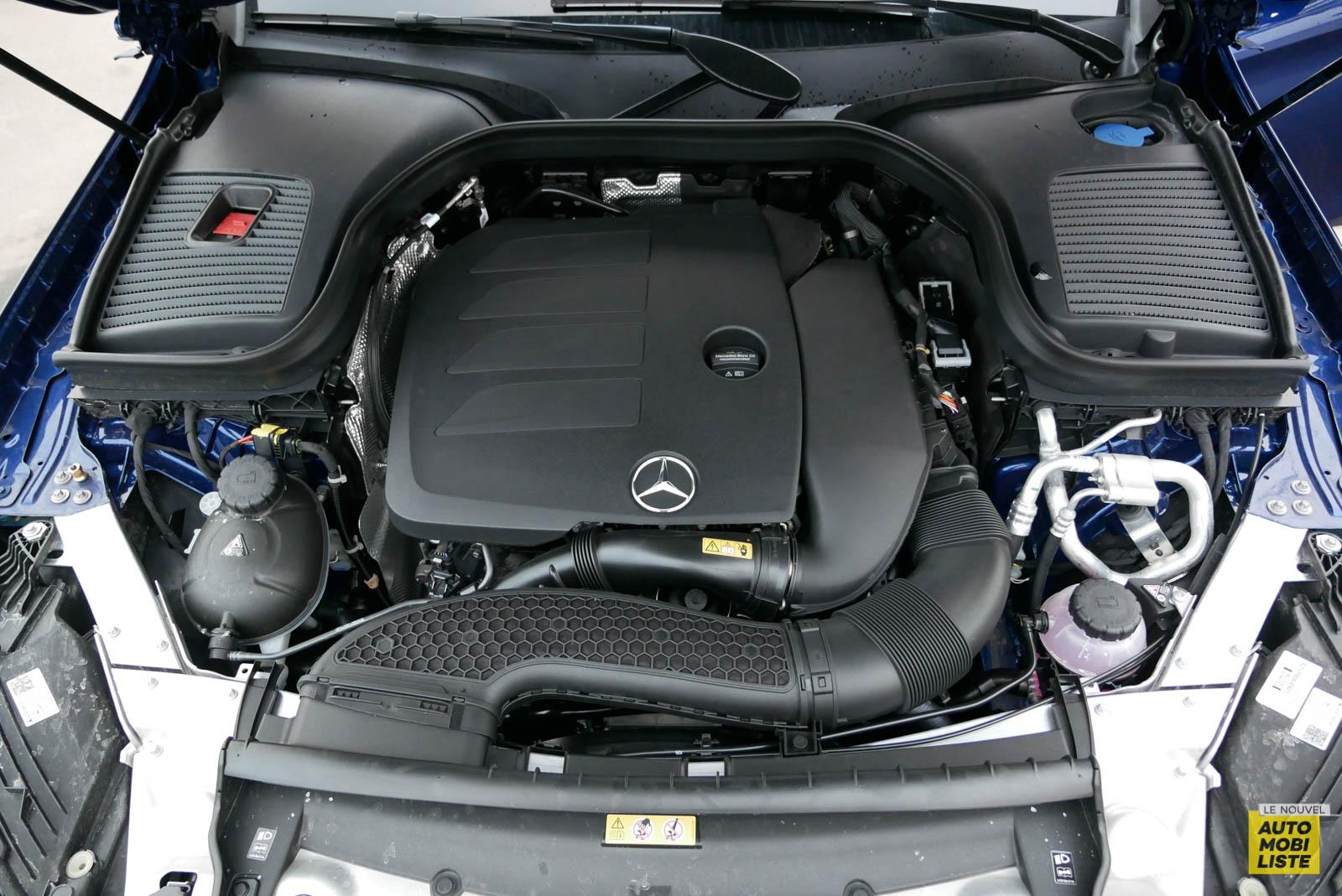 LNA Essai 2001 Mercedes Benz GLC Coupe Moteur