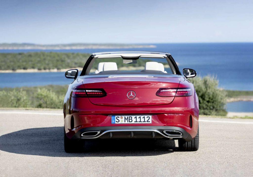Mercedes Classe E Cabriolet restylé