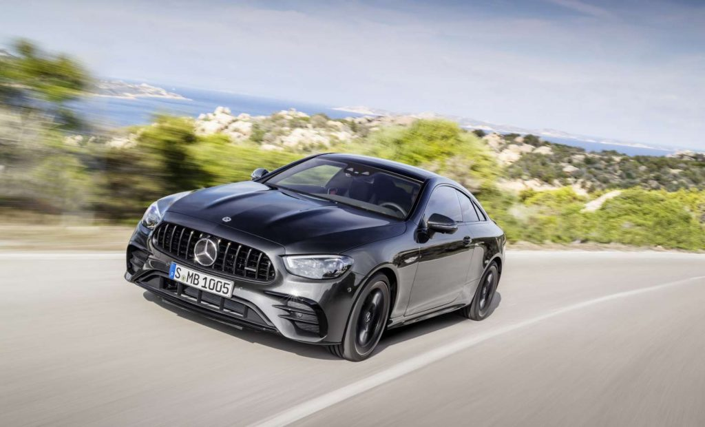 Mercedes Classe E Coupé restylé