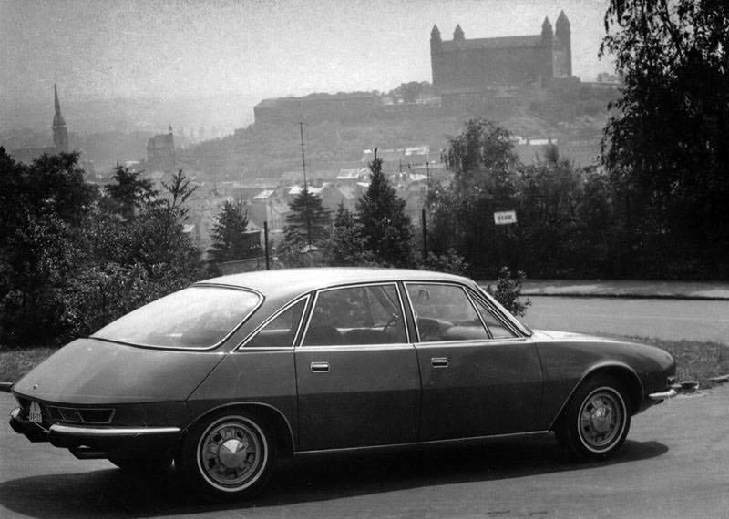 Tatra 603 X T603 X coupé Bratislava