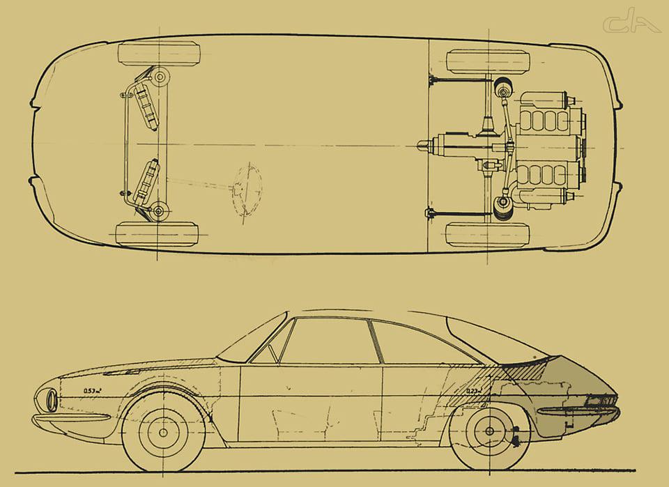 Tatra 603 X T603 X coupé Jan Cina