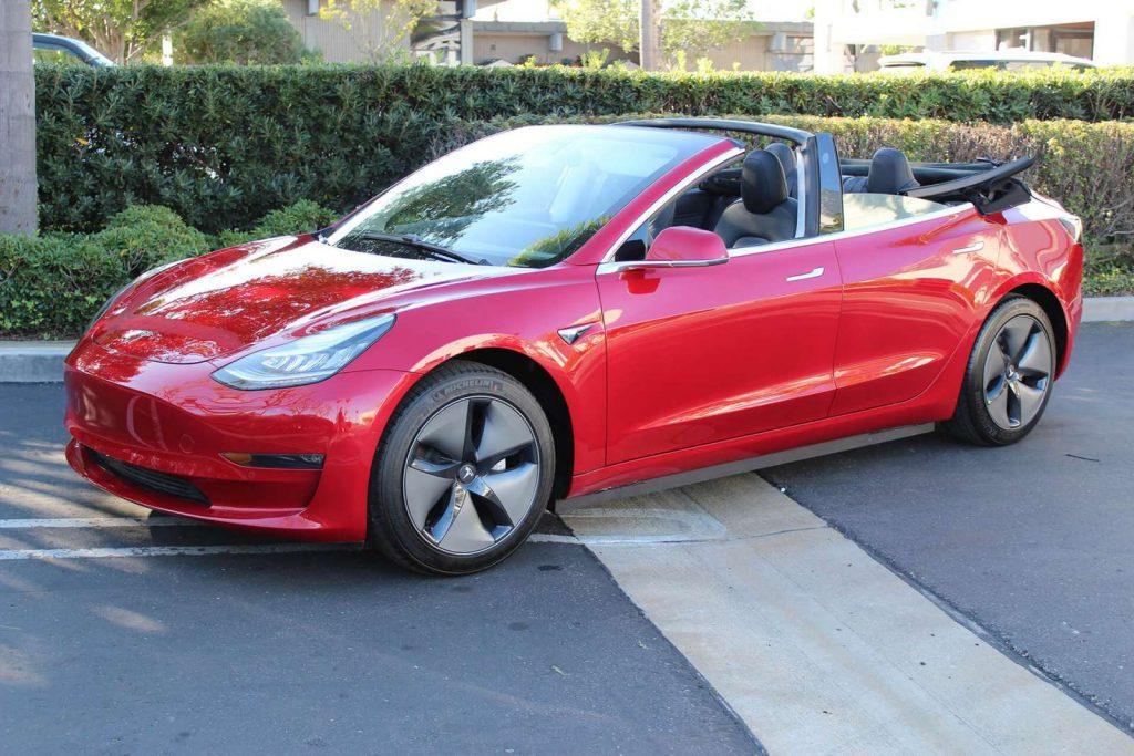 Tesla Model 3 cabriolet 1