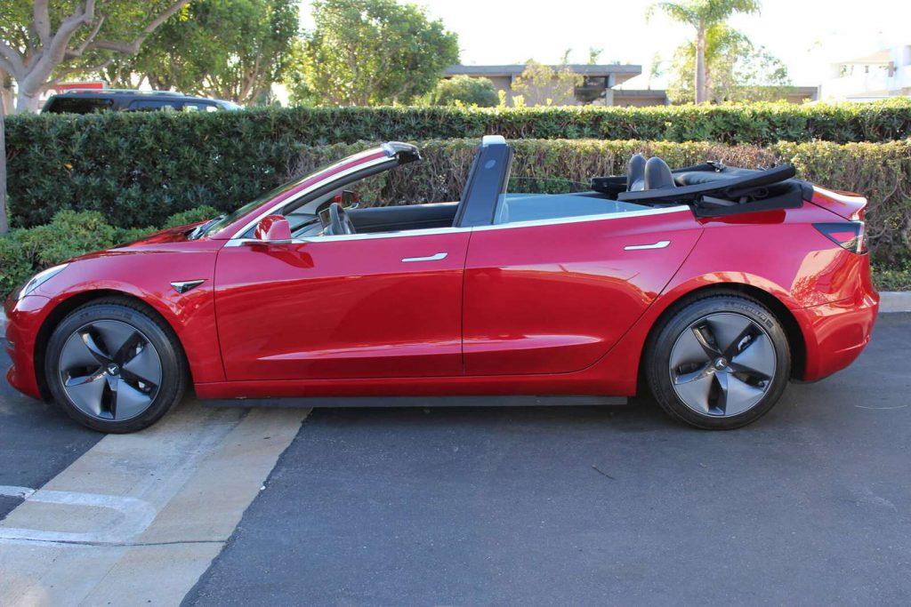 Tesla Model 3 cabriolet 2