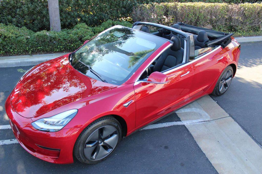 Tesla Model 3 cabriolet 4